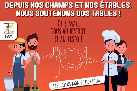 soutien à l'horeca local